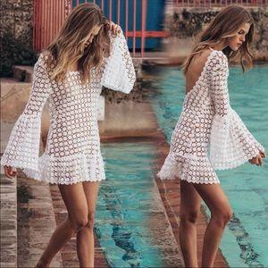 Other - New! Stunning Juliet white beach dress